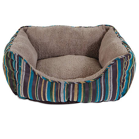 Aspen Pet 17 in. x 20 in. Rectangular Lounger Bolster Bed