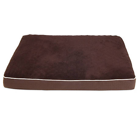 Aspen Pet 27 in. x 36 in. x 3.5 in. Brown Orthopedic Bed