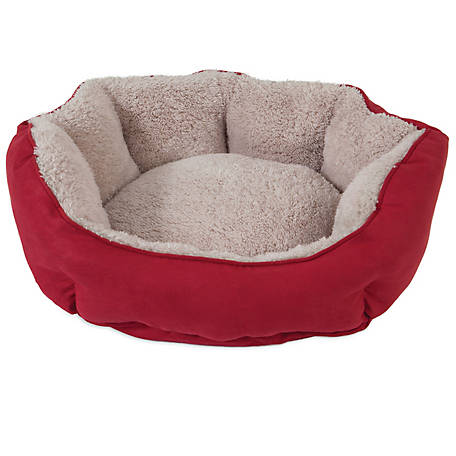 Precision Pet Products SnooZZy Clamshell Pet Bed, Red