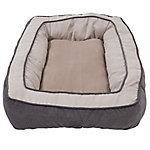 Precision Pet Products SnooZZy Chevron Chenille Bumper Dog Bed, 27 in. x 36 in.