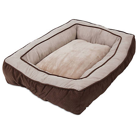 Precision Pet Products Bumper Floor Pillow Bed 27 in. x 36 in.