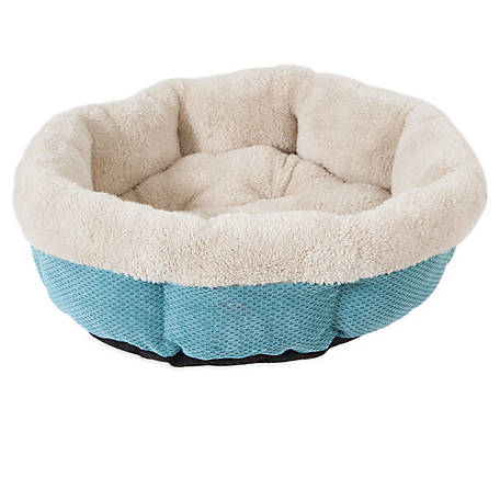 Precision Pet Products SnooZZy Mod Chic Shearling Round Bed