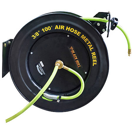 Black Bull 100 ft. Retractable Air Hose Reel, AHAR100