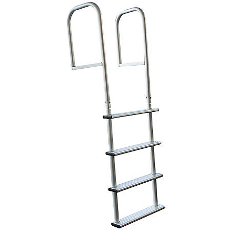 Sportsman Series 4 ft. Removable Aluminum Dock Ladder, ALD4