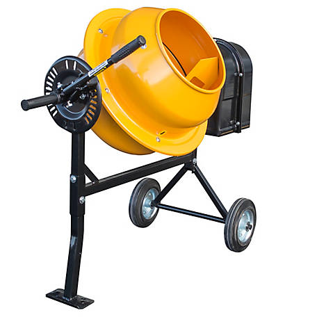 Pro Series 1 cu. ft. Electric Cement Mixer, CME125