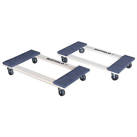 Buffalo Tools 1,000 lb. Furniture Dolly Set 2-Piece, HDFDOLLY2