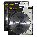 Pro Series 10 in. Carbide Tip Saw Blade 2 Piece Set, PS07412SET