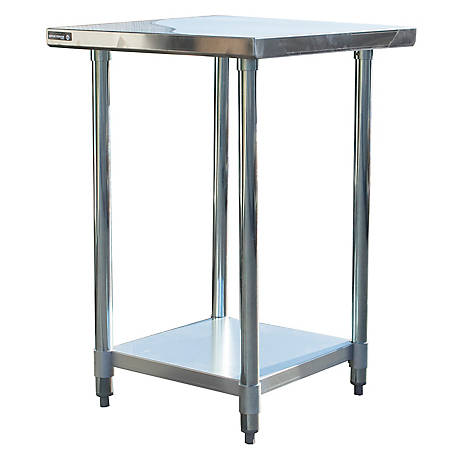 Sportsman Series 24 in. x 24 in. Stainless Steel Work Table, SSWTABLE24
