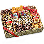 A Gift Inside Chocolate, Caramel And Crunch Grand Gift Basket