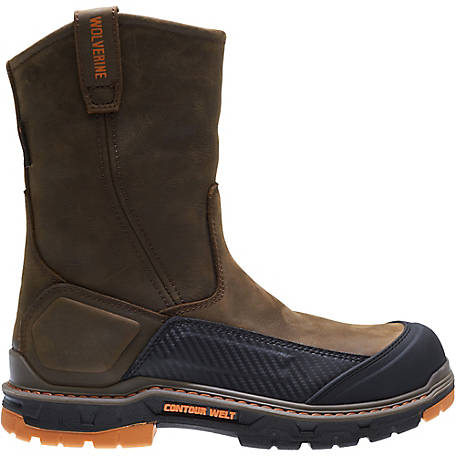 6a13f4db455 Wolverine Men's Overpass Wellington Soft Toe Boot at Tractor Supply Co.