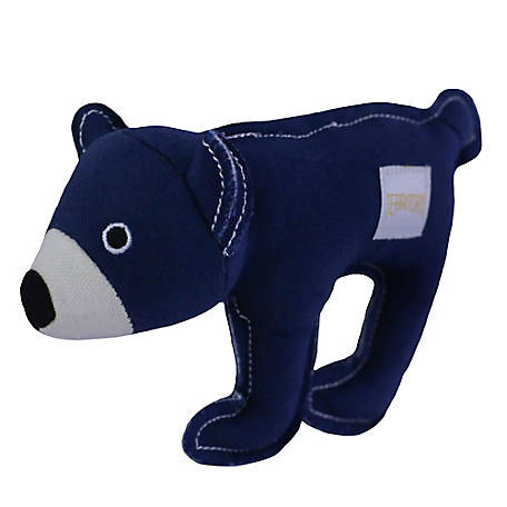 Territory Canvas Squeaker Toy Bear, PT113Y