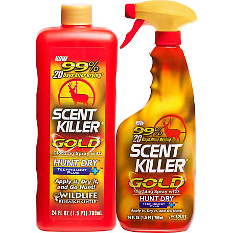 Wildlife Research Center Scent Killer Gold 24/24 Combo 48 fl. oz., 1259