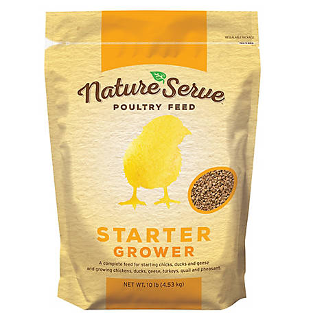 NatureServe Chick Starter Grower Non-Medicated, 101010