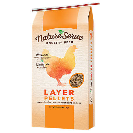 NatureServe Natureserve Layer 16% Pellets, 104020