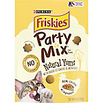 Friskies Party Mix Yums Chicken Cat Treats, 6 oz.