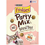 Friskies Party Mix Yums Salmon Cat Treats, 6 oz.