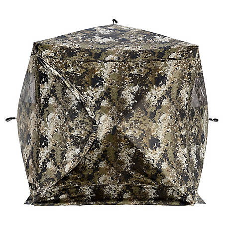 treeline 3 Person Clearvu Mesh Deer Blind, TSCHUB3-CVWID