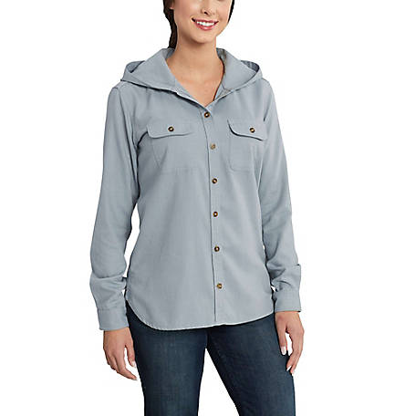 Carhartt Women's Belton Solid Long Sleeve Shirt