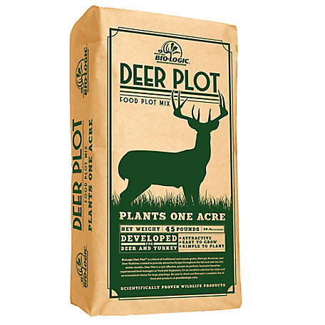 BioLogic Deer Plot 45 lb.(1acre), 8547