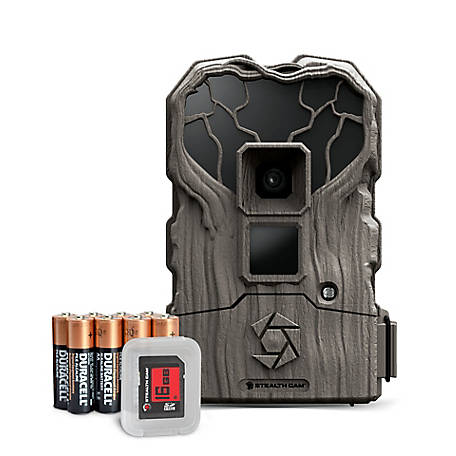 Stealth Cam TS16 Combo 16MP IR Trailcam W/Batt 16GB SD, STC-TS16K
