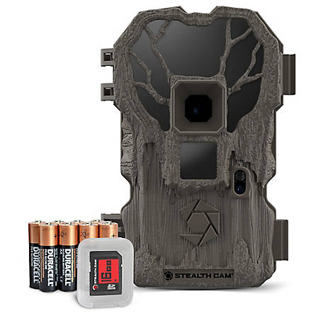 Stealth Cam PXP22 Combo 22MP IR Trailcam Batt 16GB SD, STC-PXP22K