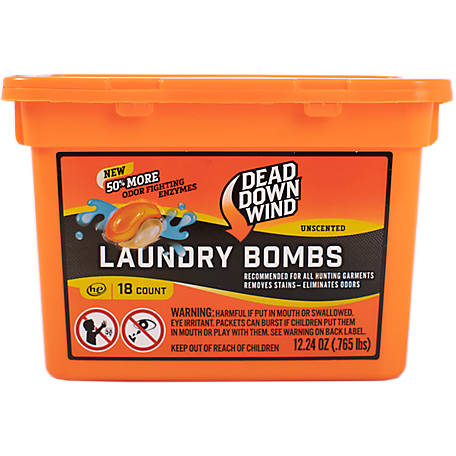Dead Down Wind Laundry Bombs 18 Count, 118018