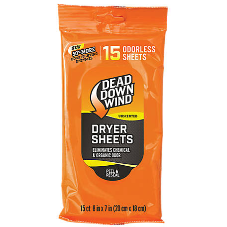 Dead Down Wind Dryer Sheets 15 Count , 1113