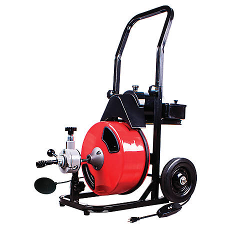 THEWORKS 50 ft. Electric Drain Cleaner Machine, PL171201