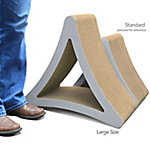 PetFusion 3-Sided Vertical Cat Scratcher, Large Size, PF-CLMT2