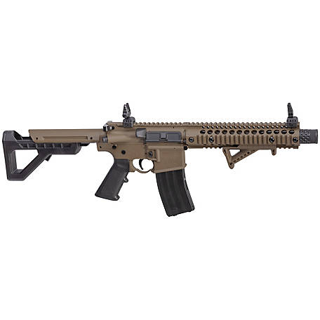 Crosman DPMS SBR Full/Semi Auto BB Rifle, DSBRFDE