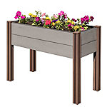 Stratco Wood Plastic Composite Elevated Garden Bed, LG 34498