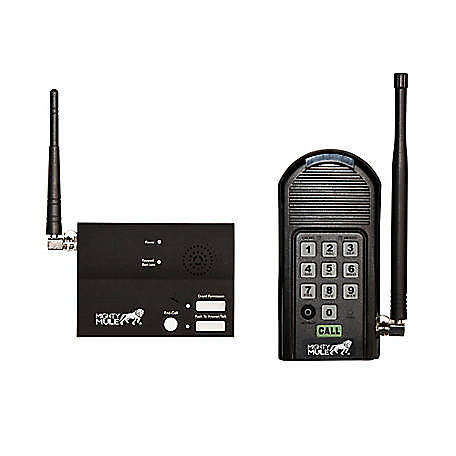 Mighty Mule Wireless Intercom & Keypad for Automatic Gate Openers, MM136