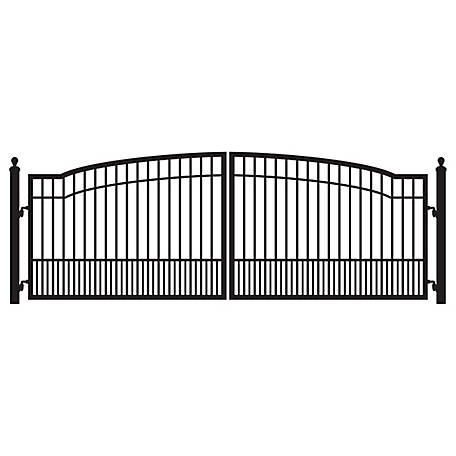 Mighty Mule Biscayne 12 ft  Dual Driveway Gate, G2712-KIT at Tractor Supply  Co
