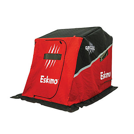 Eskimo Shelter Flip 70 in. Sled Grizzly, 26500