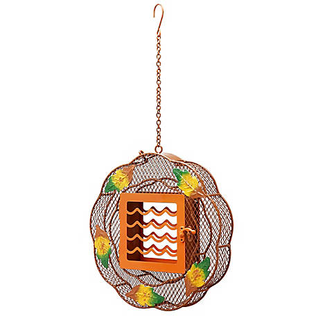 Royal Wing Fall Wreath Bird Feeder, 180921G