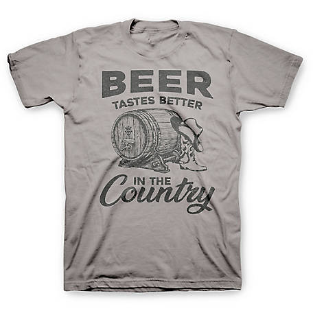 Farm Fed Clothing Men's Short Sleeve 'Beer Country' T-Shirt