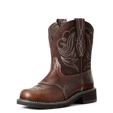 Ariat Women's Leather Fatbaby Dapper Boot