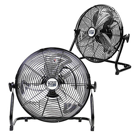 MaxxAir 14 High Velocity Floor Fan, 2 Pack, HVFF 1402 UPS