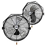 MaxxAir 18 High Velocity Wall Mount Fan, 2-Pack, HVWM 1802 UPS