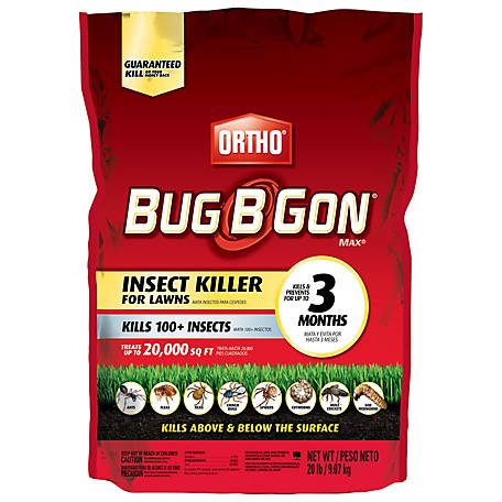 Ortho Bug B Gon Insect Killer for Lawns3 Granules, 20 lb., 0200624