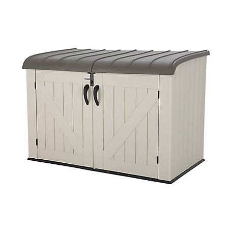 Lifetime Horizontal Storage Shed 75 cu. ft., 60170