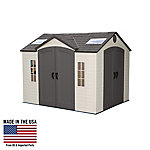 Lifetime 10 ft. x 8 ft. Outdoor Storage System Dual Entry Shed, 60001