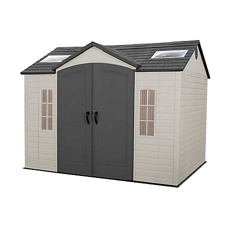 Lifetime 10 ft. x 8 ft. Outdoor Storage Shed, 60005