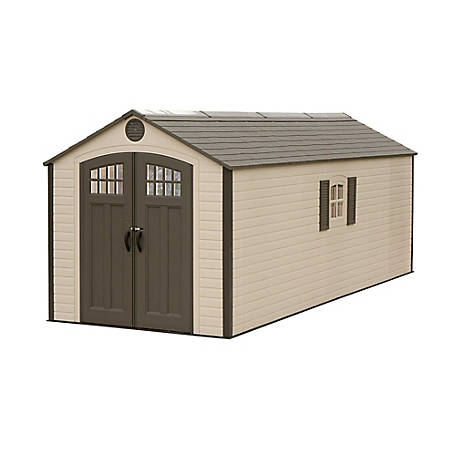 Lifetime 8 ft  x 20 ft  Outdoor Storage Shed, 60120 at Tractor Supply Co