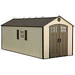 Lifetime 8 ft. x 17.5 ft. Outdoor Storage Shed, 60121