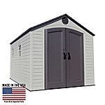 Lifetime 8 ft. x 12.5 ft. Outdoor Storage Shed, 6402