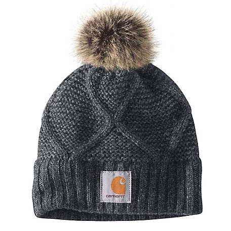 Carhartt Women's Cable Know Pom Hat