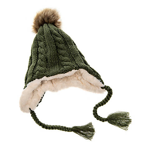 Xetra Hat Womens Knit Cable AX313