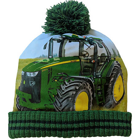 John Deere Hat Toddler Boy Tractor Photo Real
