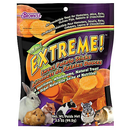 Brown's Extreme Sweet Potato Sticks, 3.5 oz.